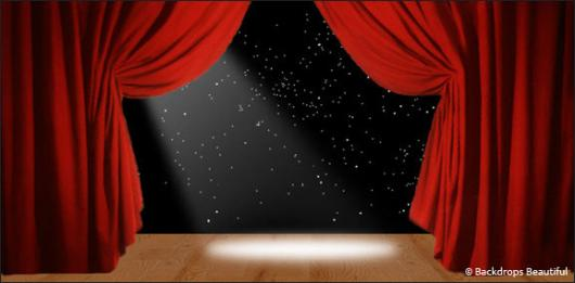 Backdrops: Stage Red 1