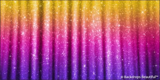 Backdrops: Sparkling Drapes 3
