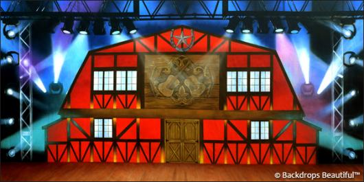 Backdrops: Stage Barn 2B
