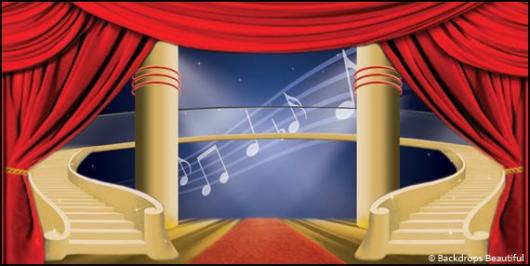 Backdrops: Stage Cabaret