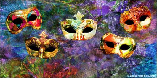 Backdrops: Masks  2B