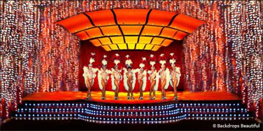 Backdrops: Stage Showgirls 1