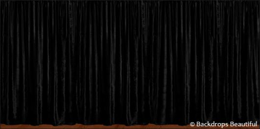 Backdrops: Drapes Black