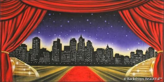 Backdrops: Stage Skyline