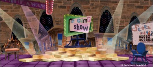 Backdrops: Game Show 1