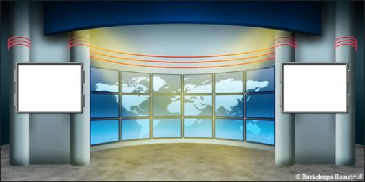 Backdrops: Newsroom 2