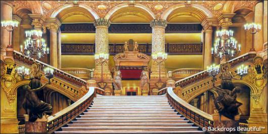 Backdrops: Paris Opera House 1