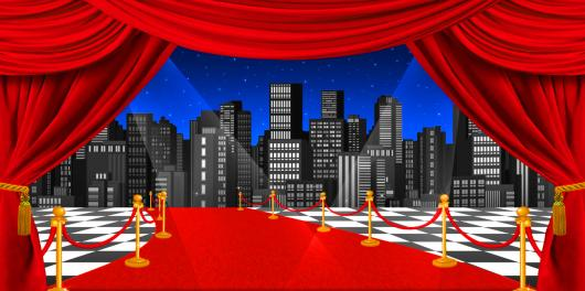 Backdrops: Stage Skyline 4