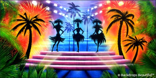 Backdrops: Stage Showgirls 5