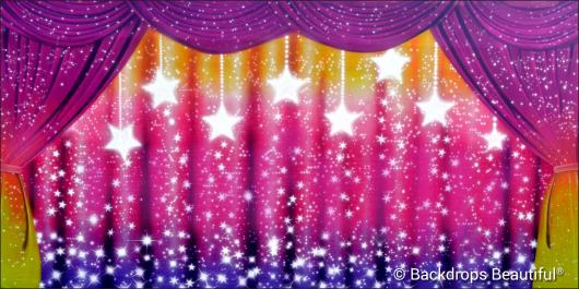 Backdrops: Sparkling Drapes 2 Stars