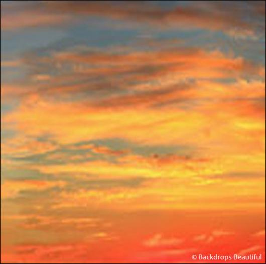 Backdrops: Sunset Sky 7
