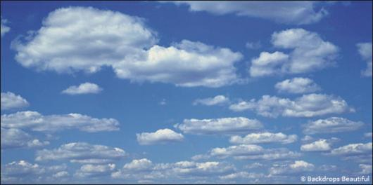 Backdrops: Clouds 2B