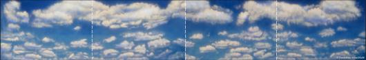 Backdrops: Clouds 6 Panel