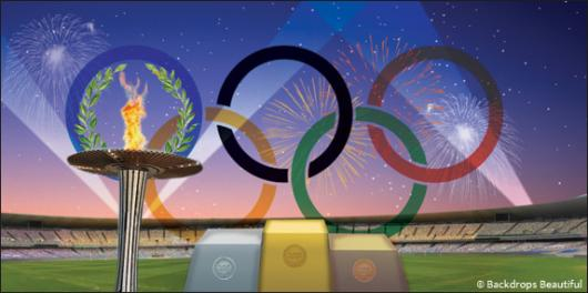 Backdrops: Olympic 3 Stadium