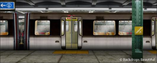 Backdrops: Subway 1