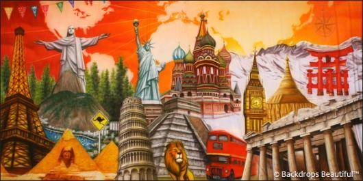 Backdrops: Around the World 2
