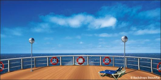 Backdrops: Cruise Ship 5 Deck