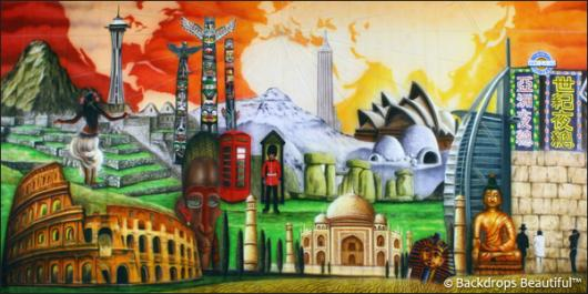 Backdrops: Around the World 3