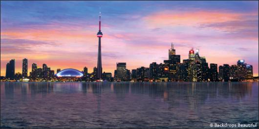 Backdrops: Toronto Skyline