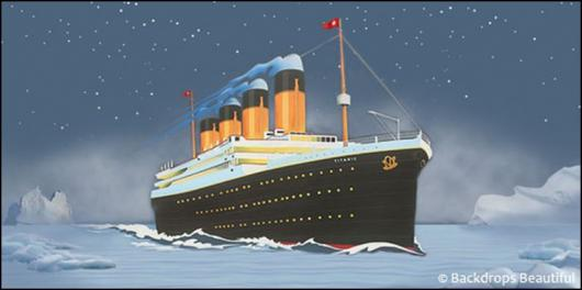 Backdrops: Cruise Ship 6 Titanic
