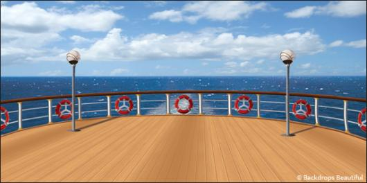 Backdrops: Cruise Ship 7B Deck