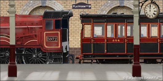 Backdrops: Train 3
