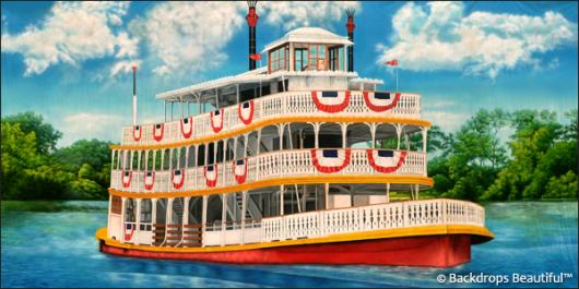 Backdrops: Riverboat 1