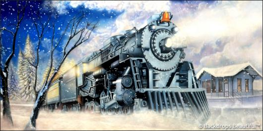 Backdrops: Train 5 Winter