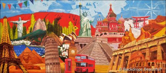 Backdrops: Around the World 8