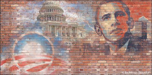 Backdrops: Patriotic USA 3 Obama