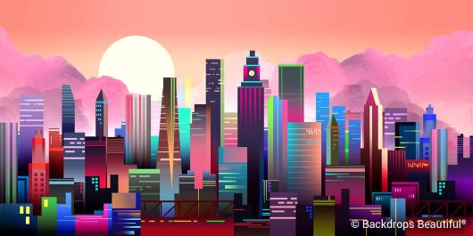 Backdrops: City Skyline 23