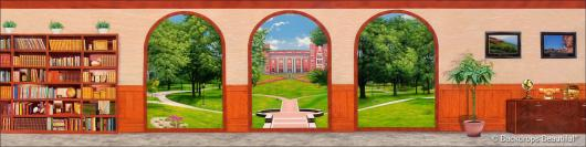 Backdrops: Campus 4