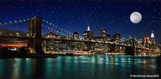 Backdrops: NY Skyline  1