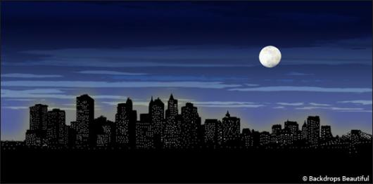 Backdrops: NY Skyline  5