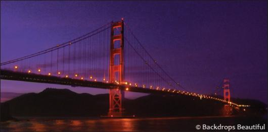 Backdrops: San Francisco 1 By Night