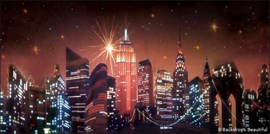 Backdrops: NY Skyline  8