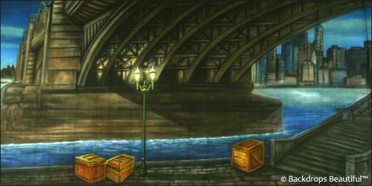 Backdrops: Under the Bridge
