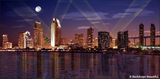 Backdrops: San Diego by Night 3