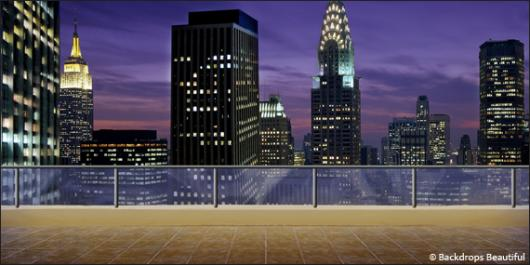Backdrops: Rooftop Terrace 1