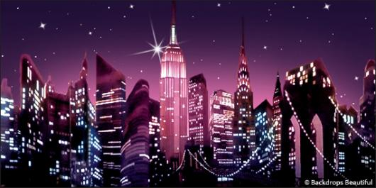 Backdrops: NY Skyline 14