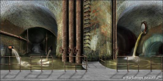 Backdrops: Sewer 1