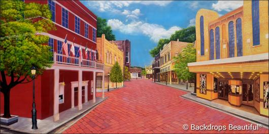 Backdrops: Main Street 1