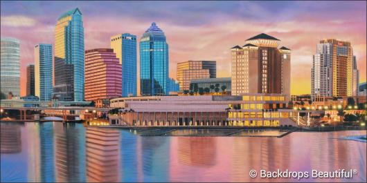 Backdrops: City Skyline 14