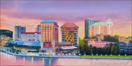 Backdrops: City Skyline 15