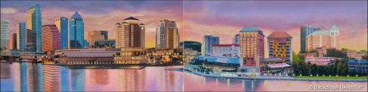 Backdrops: City Skyline 15 Panel