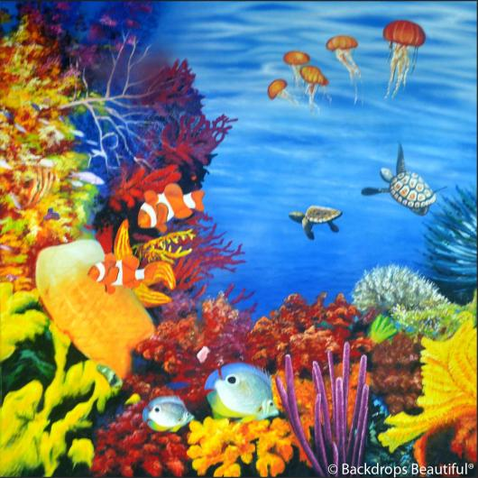 Backdrops: Coral Reef C