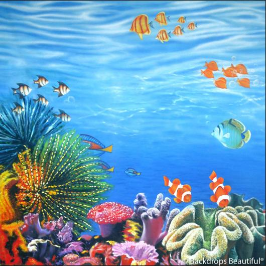 Backdrops: Coral Reef D