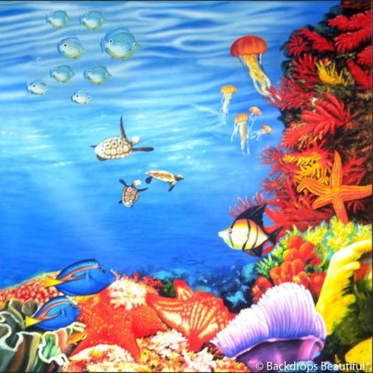 Backdrops: Coral Reef E