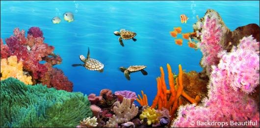 Backdrops: Coral Reef 7