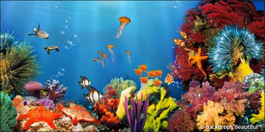 Backdrops: Coral Reef 2